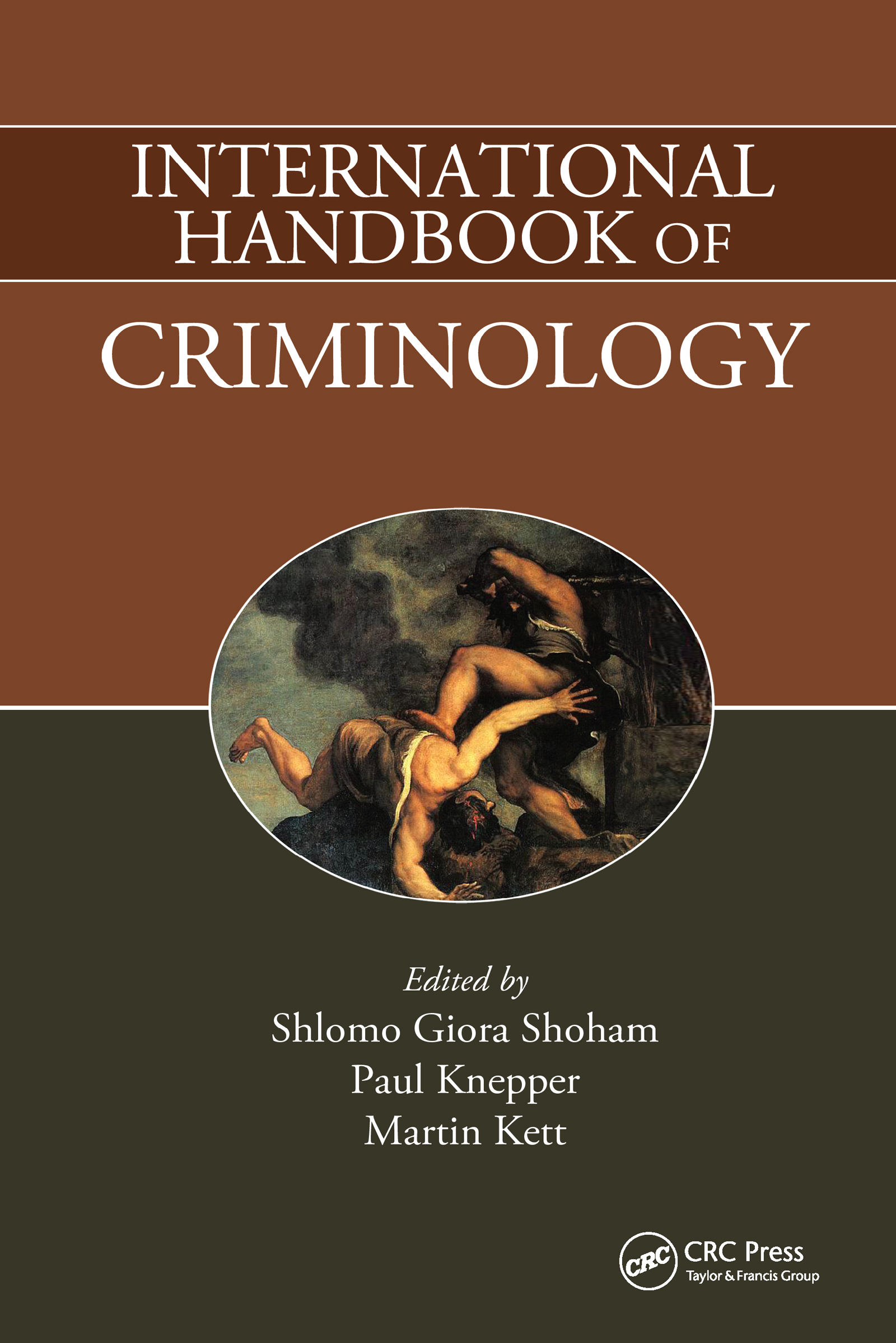 International Handbook of Criminology (Hardback) book cover