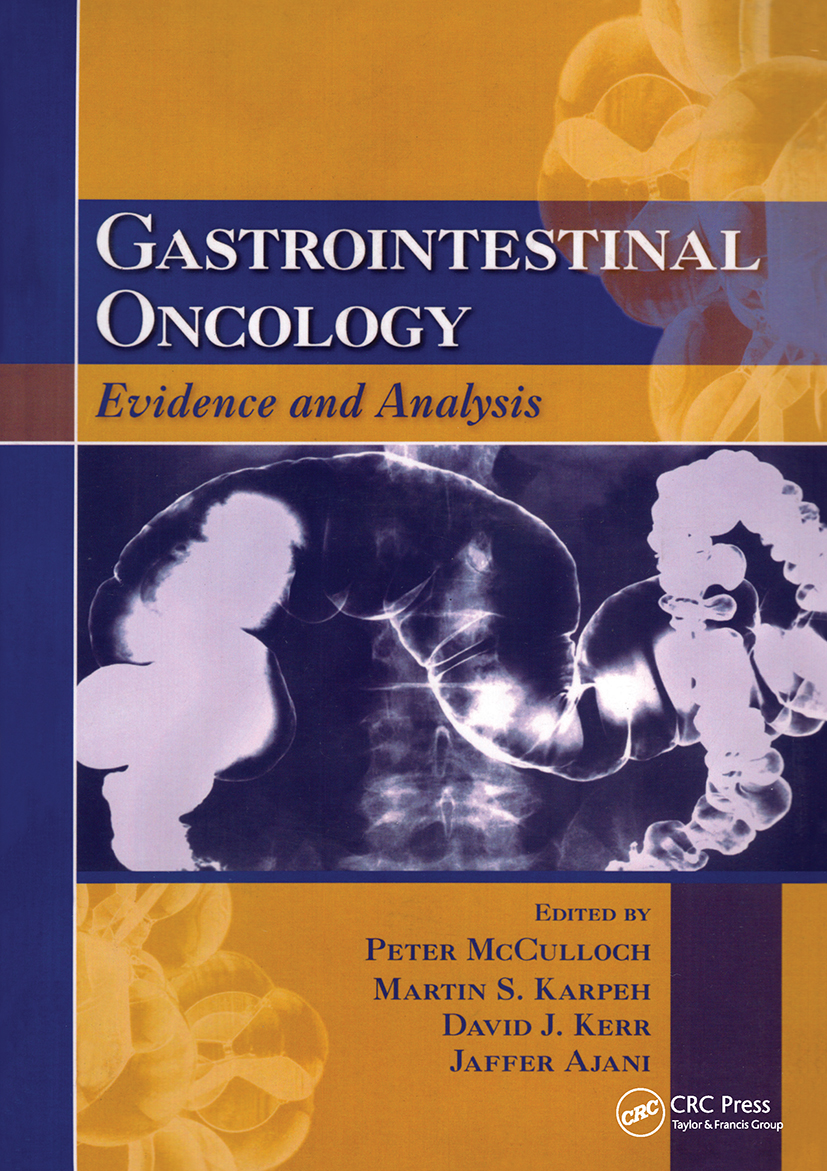 Gastrointestinal Oncology: Evidence and Analysis, 1st Edition (Paperback) book cover