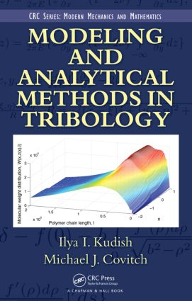 Modeling and Analytical Methods in Tribology: 1st Edition (Hardback) book cover