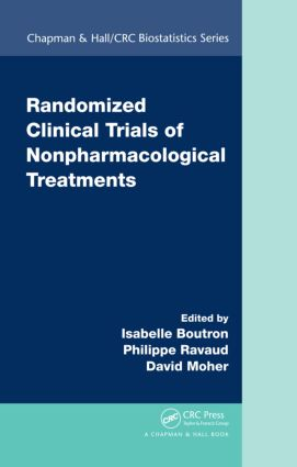 Randomized Clinical Trials of Nonpharmacological Treatments (Hardback) book cover