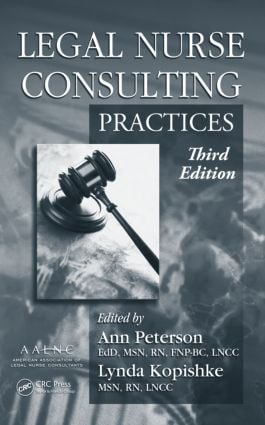 Legal Nurse Consulting, Third Edition (2 Volume Set): 3rd Edition (Hardback) book cover