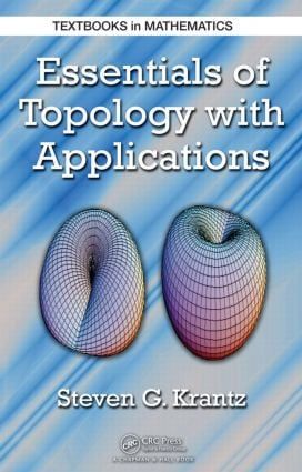 Essentials of Topology with Applications: 1st Edition (Hardback) book cover