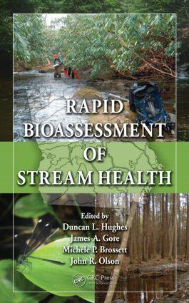 Rapid Bioassessment of Stream Health (Hardback) book cover
