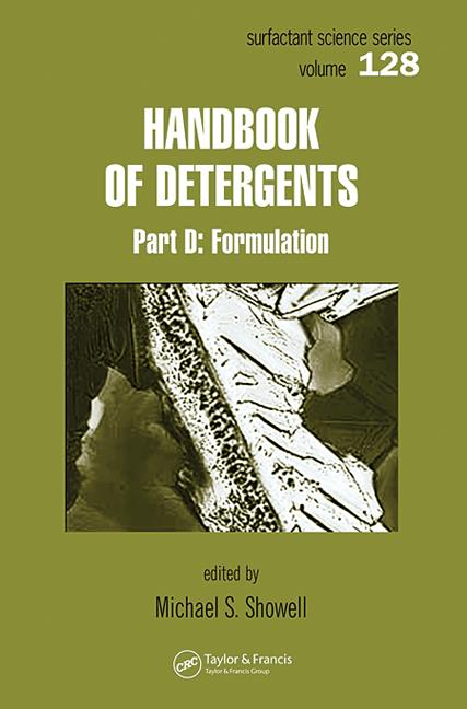 Handbook of Detergents - 6 Volume Set: 1st Edition (Hardback) book cover