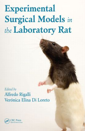 Experimental Surgical Models in the Laboratory Rat: 1st Edition (Hardback) book cover