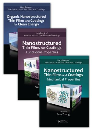 Handbook of Nanostructured Thin Films and Coatings, Three-Volume Set: 1st Edition (Hardback) book cover