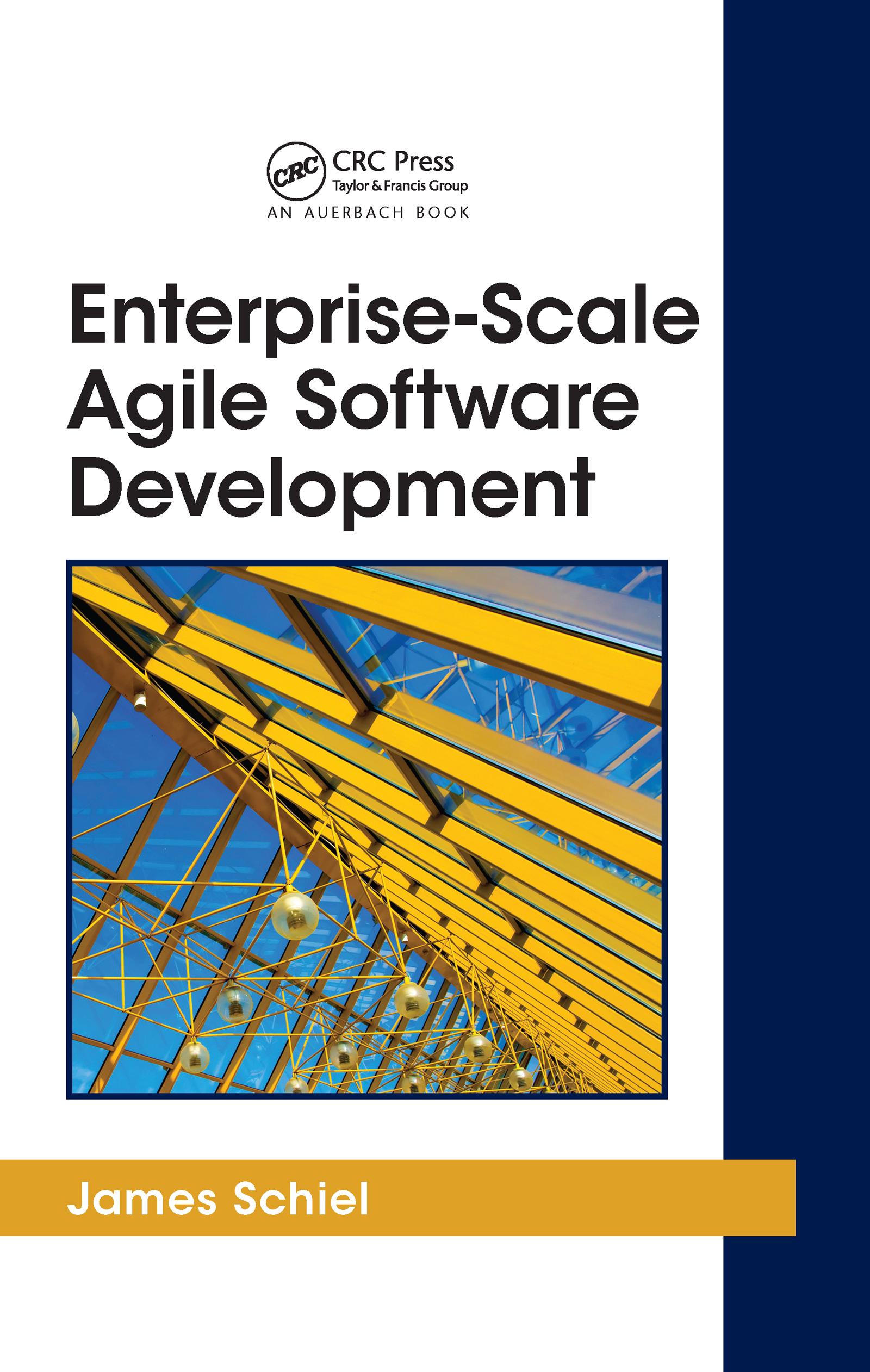 Enterprise-Scale Agile Software Development (Hardback) book cover
