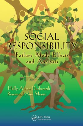 Social Responsibility: Failure Mode Effects and Analysis, 1st Edition (Hardback) book cover