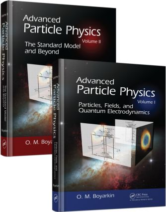 Advanced Particle Physics Two-Volume Set: 1st Edition (Paperback) book cover