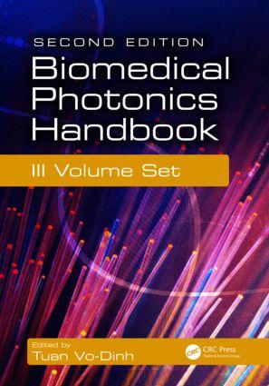 Biomedical Photonics Handbook, 3 Volume Set: 2nd Edition (Hardback) book cover