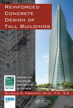 Reinforced Concrete Design of Tall Buildings: 1st Edition (Hardback) book cover