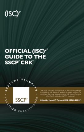 Official (ISC)2 Guide to the SSCP CBK book cover