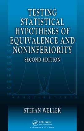 Testing Statistical Hypotheses of Equivalence and Noninferiority: 2nd Edition (Hardback) book cover