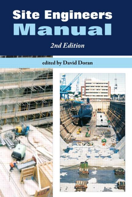 Site Engineers Manual, Second Edition (Paperback) book cover