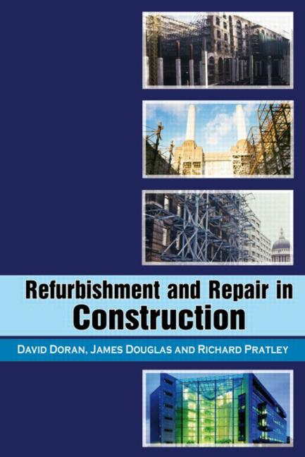 Refurbishment and Repair in Construction: 1st Edition (Hardback) book cover
