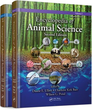 Encyclopedia of Animal Science - (Two-Volume Set) book cover