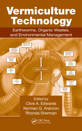Vermiculture Technology: Earthworms, Organic Wastes, and Environmental Management (Hardback) book cover