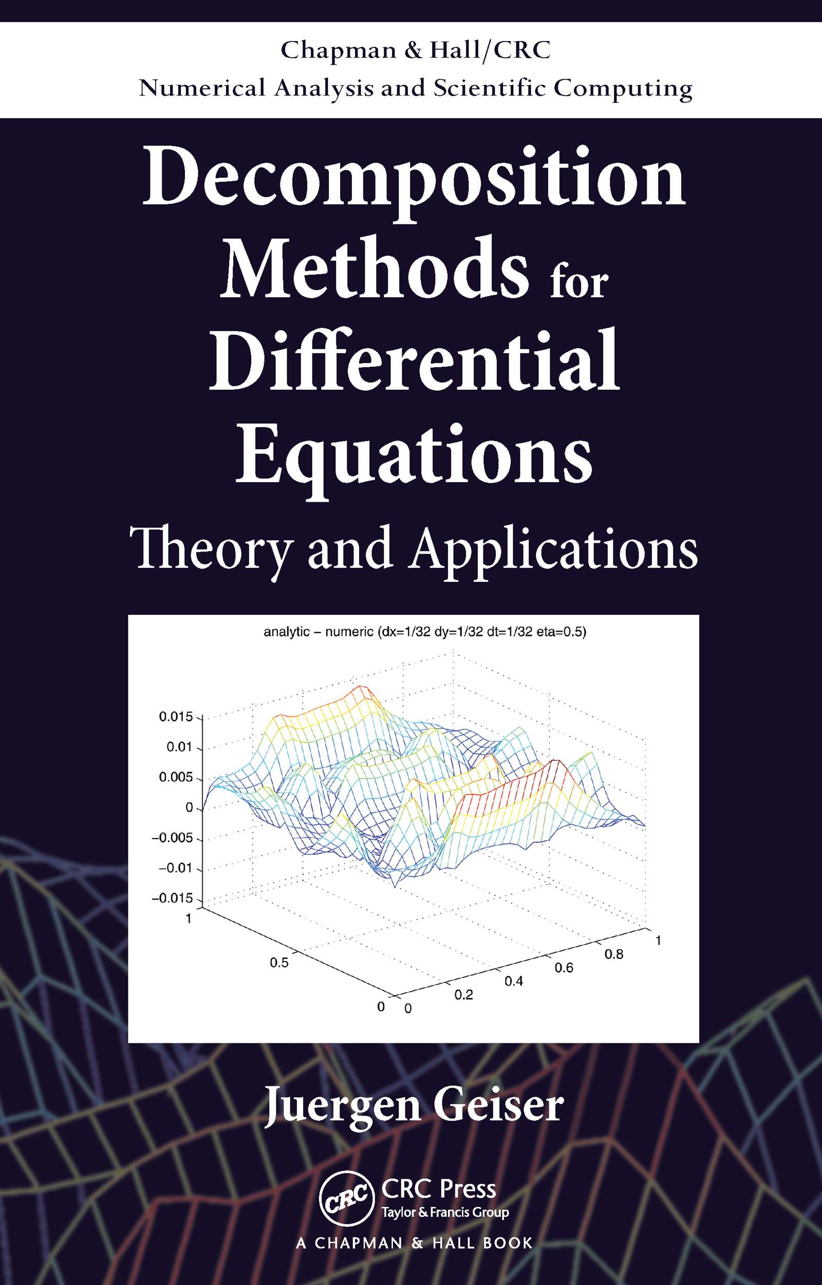 Decomposition Methods for Differential Equations: Theory and Applications book cover