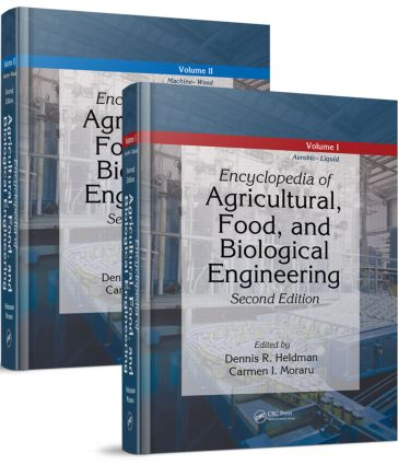 Encyclopedia of Agricultural, Food, and Biological Engineering - 2 Volume Set (Print Version) book cover