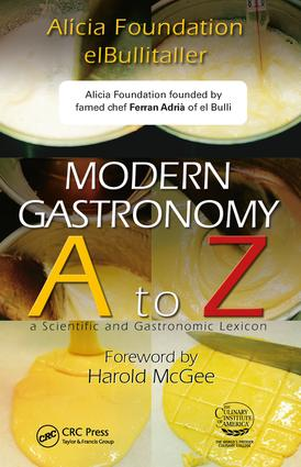 Modern Gastronomy: A to Z, 1st Edition (Hardback) book cover