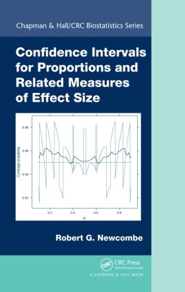 Confidence Intervals for Proportions and Related Measures of Effect Size (Hardback) book cover