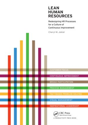 Lean Human Resources: Redesigning HR Processes for a Culture of Continuous Improvement, 1st Edition (Paperback) book cover