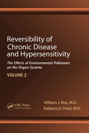 Reversibility of Chronic Disease and Hypersensitivity,Volume 2: The Effects of Environmental Pollutants on the Organ System, 1st Edition (Hardback) book cover