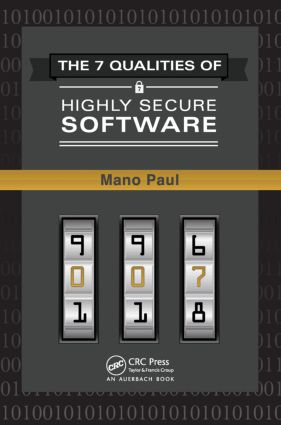 The 7 Qualities of Highly Secure Software: 1st Edition (Hardback) book cover