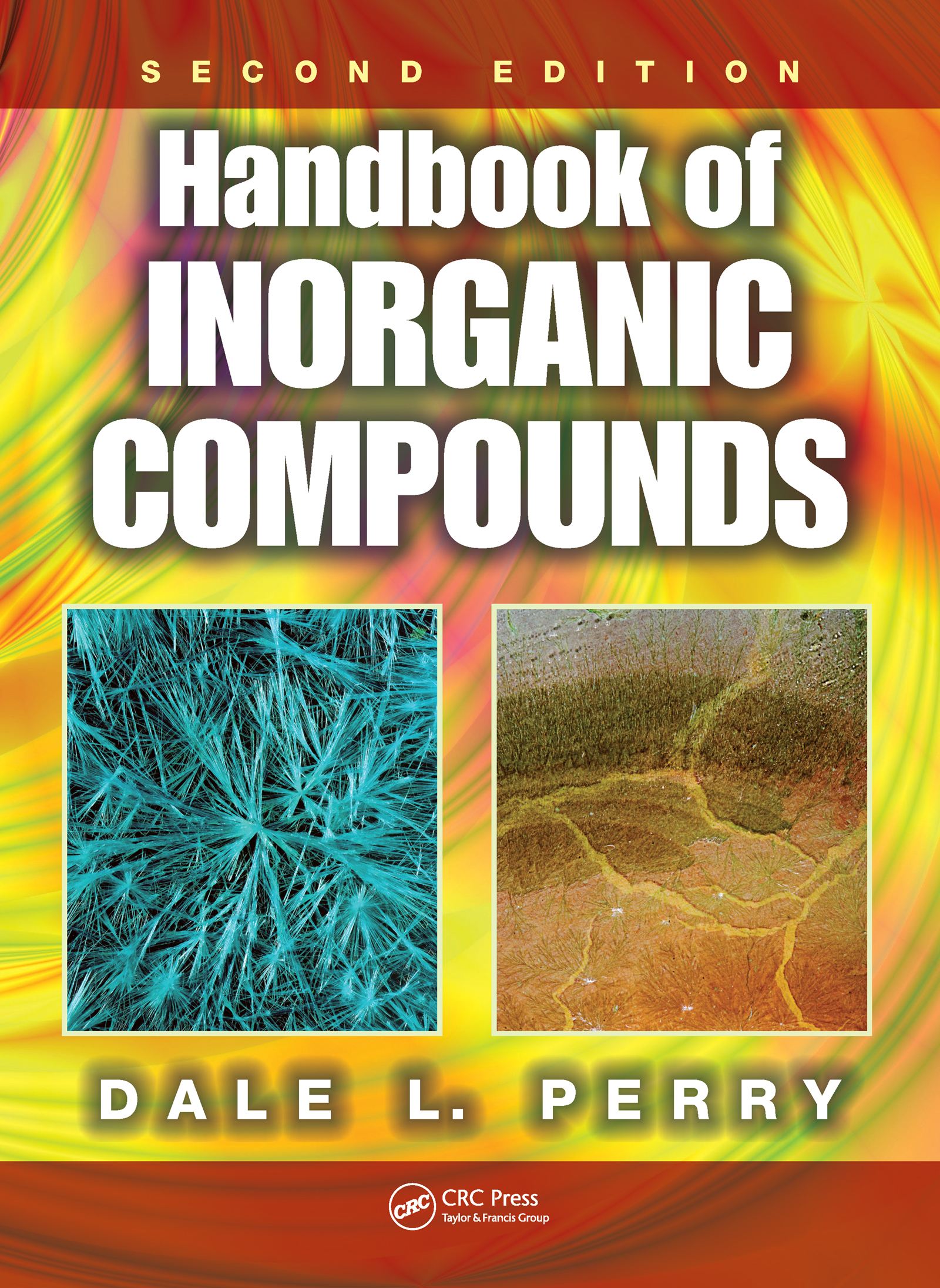 Handbook of Inorganic Compounds: 2nd Edition (Hardback) book cover