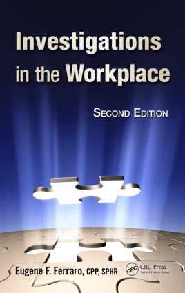 Investigations in the Workplace: 2nd Edition (Hardback) book cover