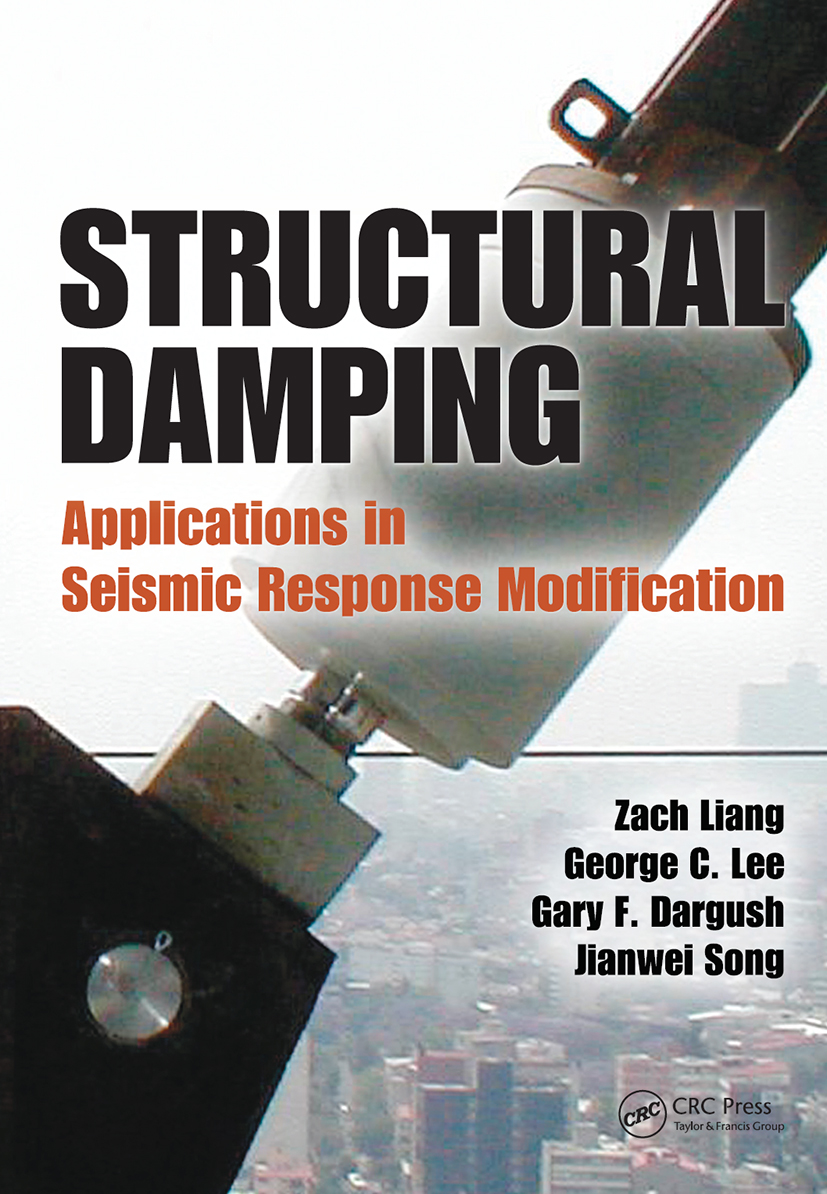Structural Damping: Applications in Seismic Response Modification, 1st Edition (Hardback) book cover