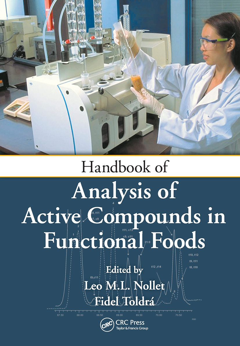 Handbook of Analysis of Active Compounds in Functional Foods: 1st Edition (Hardback) book cover