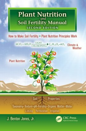 Plant Nutrition and Soil Fertility Manual: 2nd Edition (Paperback) book cover