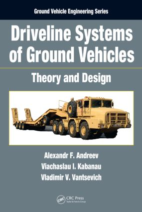 Driveline Systems of Ground Vehicles: Theory and Design, 1st Edition (Hardback) book cover