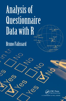 Analysis of Questionnaire Data with R (Hardback) book cover