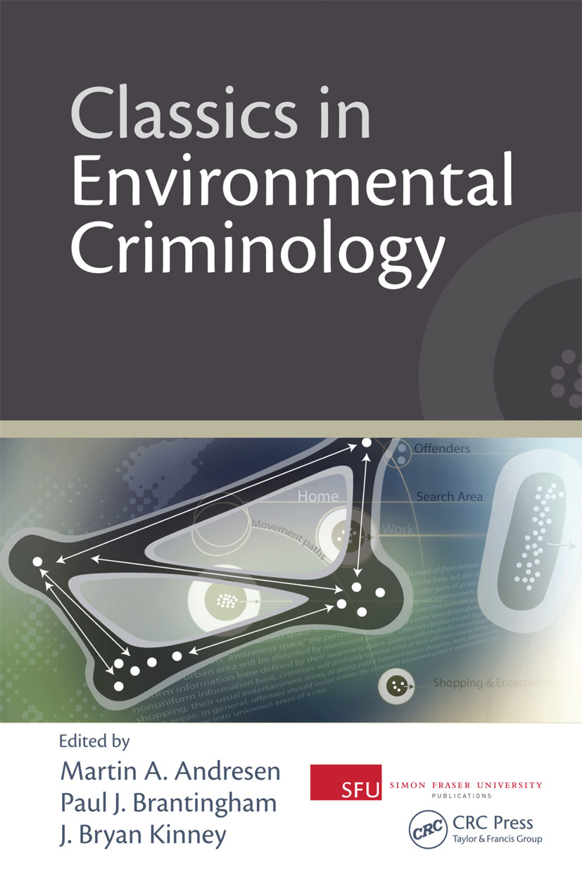 Classics in Environmental Criminology (Hardback) book cover