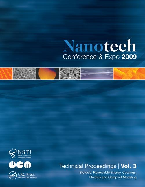 Nanotechnology 2009: Biofuels, Renewable Energy, Coatings, Fluidics and Compact Modeling Technical Proceedings of the 2009 NSTI Nanotechnology Conference and Expo, Volume 3, 1st Edition (Paperback) book cover