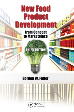 New Food Product Development: From Concept to Marketplace, Third Edition, 3rd Edition (Hardback) book cover