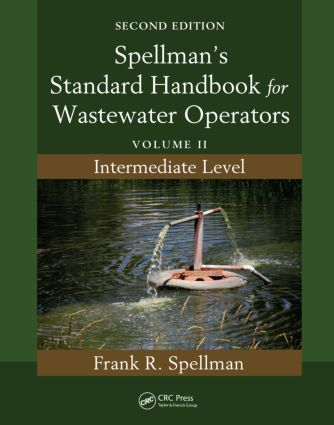 Spellman's Standard Handbook for Wastewater Operators: Volume II, Intermediate Level, Second Edition, 2nd Edition (Paperback) book cover