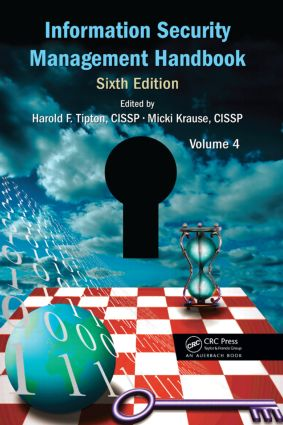 Information Security Management Handbook, Volume 4: 6th Edition (Hardback) book cover
