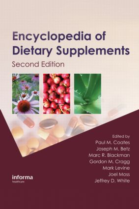 Encyclopedia of Dietary Supplements, Second Edition (Print): 2nd Edition (Hardback) book cover