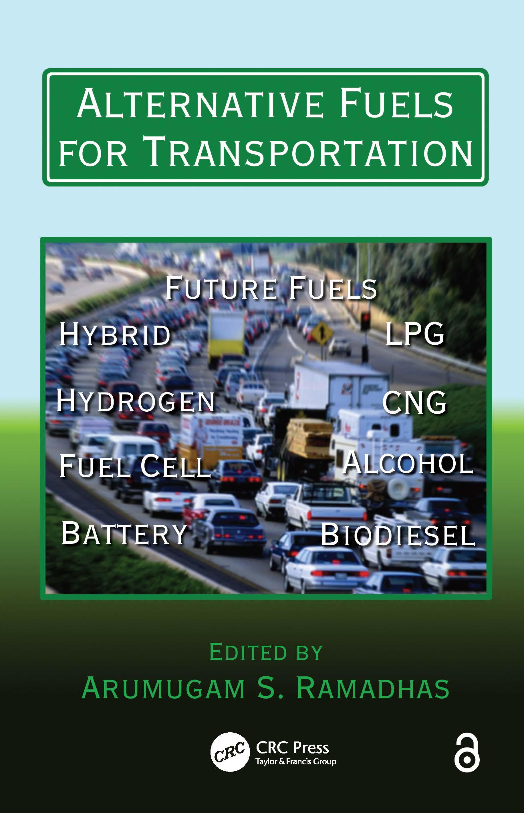Alternative Fuels for Transportation: 1st Edition (Hardback) book cover