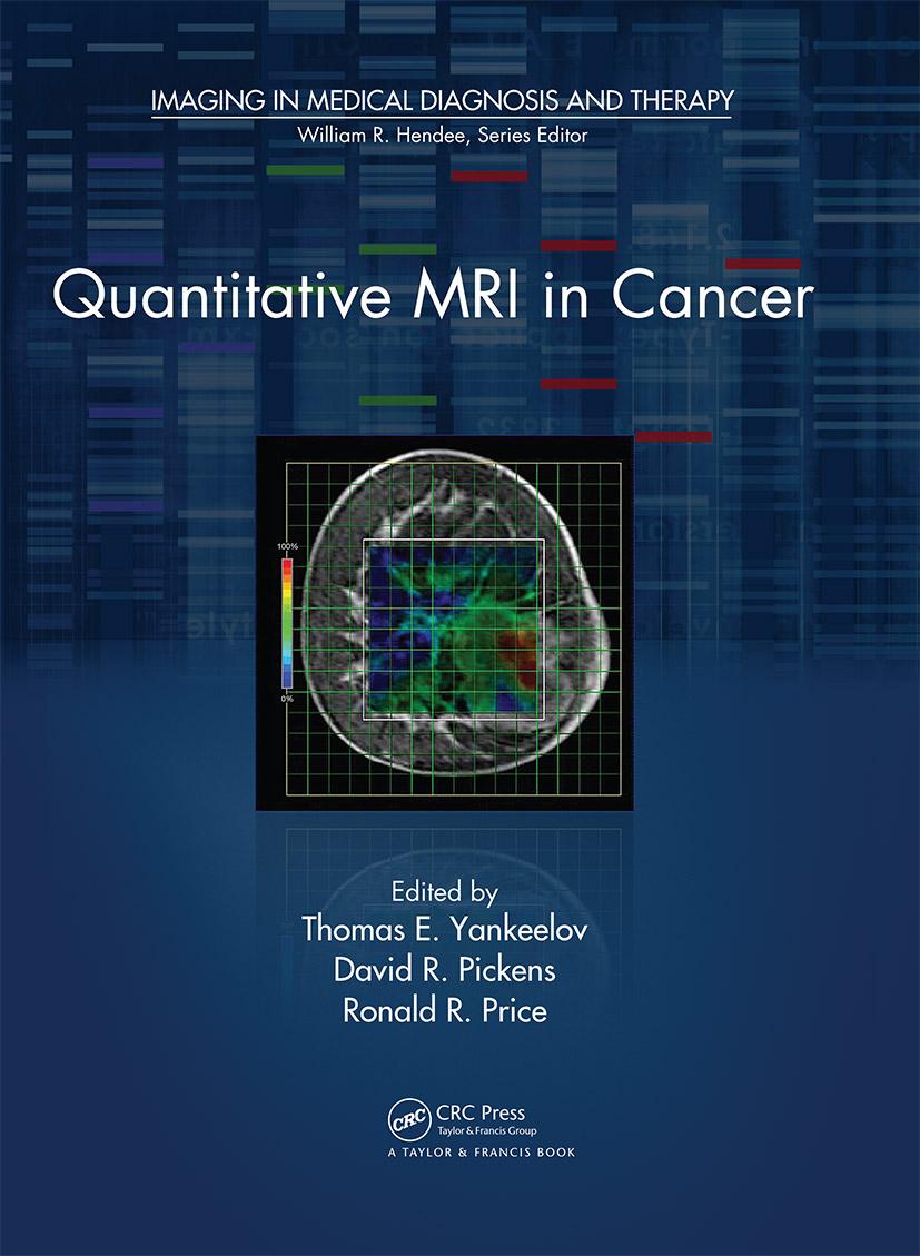 Quantitative MRI in Cancer (Hardback) book cover