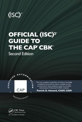 Official (ISC)2® Guide to the CAP® CBK® book cover