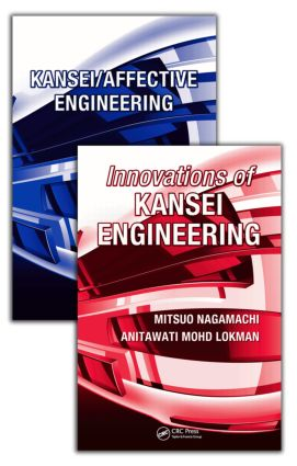 Kansei Engineering, 2 Volume Set: 1st Edition (Paperback) book cover