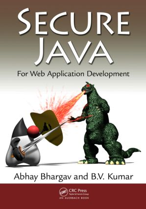 Secure Java: For Web Application Development, 1st Edition (Paperback) book cover