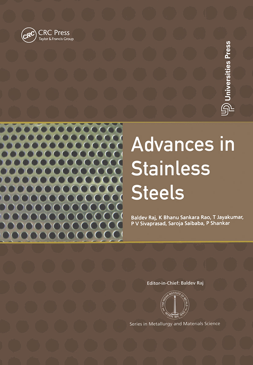 Advances in Stainless Steels: 1st Edition (Hardback) book cover