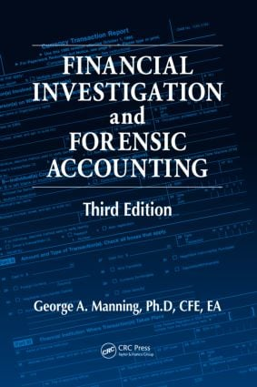 Financial Investigation and Forensic Accounting: 3rd Edition (Hardback) book cover