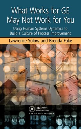 What Works for GE May Not Work for You: Using Human Systems Dynamics to Build a Culture of Process Improvement, 1st Edition (Hardback) book cover