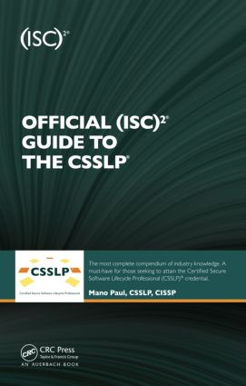 Official (ISC)2 Guide to the CSSLP book cover